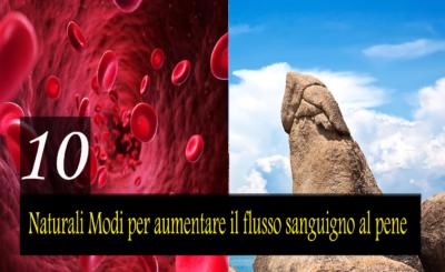 10 migliori modi naturali per aumentare il flusso sanguigno al pene per migliorare la forza e l'erezione del pene