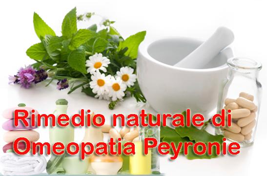 Rimedio naturale di Omeopatia Peyronie