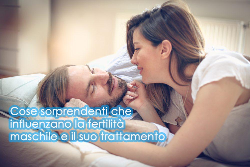 Cose sorprendenti che influenzano la fertilità maschile e il suo trattamento