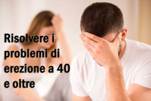 Come risolvere i problemi di erezione a 40 e oltre