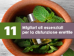 migliori oli essenziali per la disfunzione erettile