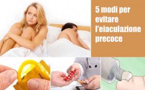 5 modi per evitare l'eiaculazione precoce senza farmaci