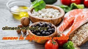 12 alimenti naturali per curare la disfunzione erettile e ottenere un'erezione duratura
