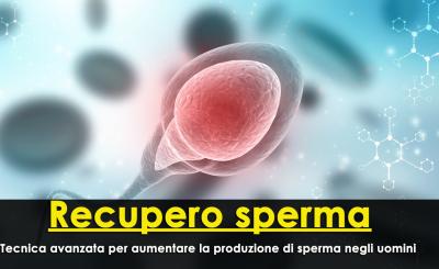 Recupero sperma
